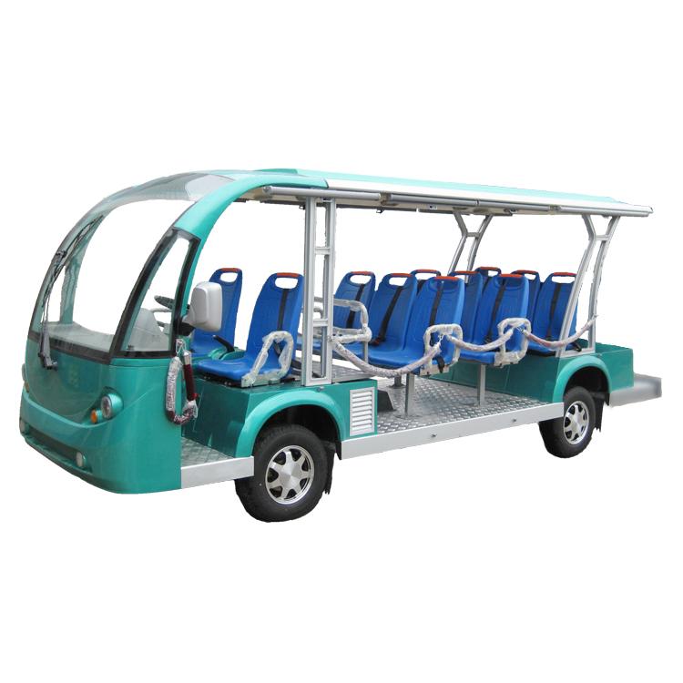 11座燃油观光车造型